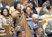 Gaddafi tirade leaves UN delegates asleep