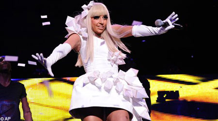 Lady Gaga received five MTV MTV Europe Music Awards nominations