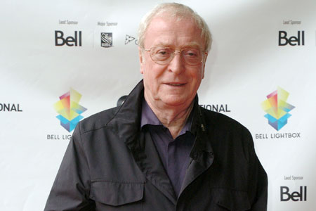 Michael Caine: do not mention blowing the bloody doors off