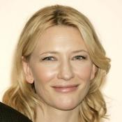 Bleeding Blanchett wounded on stage