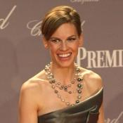 Hilary Swank fell in love with her agent, she revealed