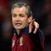 Scotland boss Burley hits out