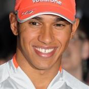 Hamilton claims pole