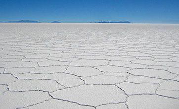 Bolivia's Salar de Uyuni is worth its salt