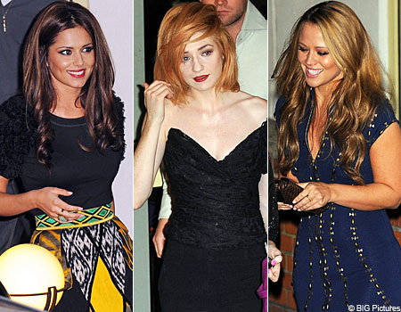 Cheryl Cole was supported on the X Factor by Nicola Roberts and Kimberley Walsh