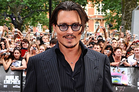 Johnny Depp is a big fan of Sheffield band Babybird