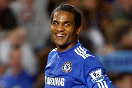 Malouda was on target for Chelsea in last night's 4-0 demolition of Bolton
