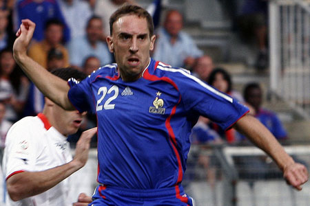 Bleus implosion: France and Ribery are out of sorts