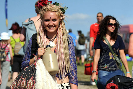 If you want to go to Glastonbury next year it's too late - tickets have already sold out!