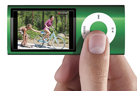 The new iPod Nano can capture video