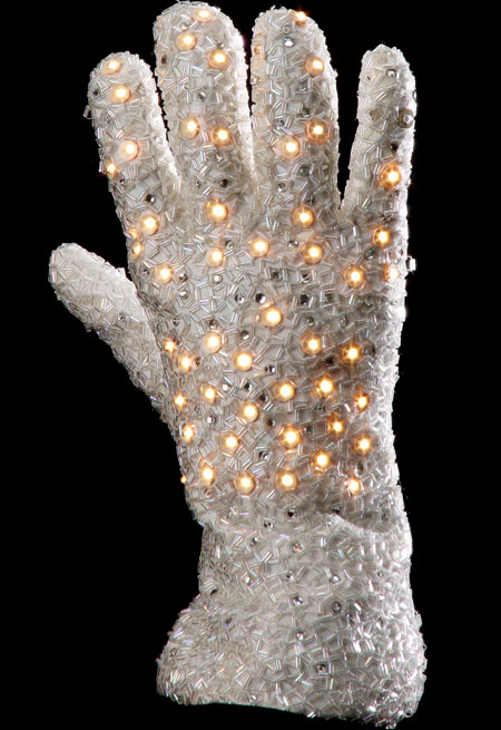 Michael Jackson's trade-mark glove did well at auction