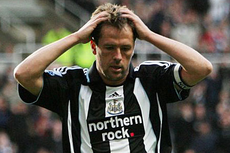 Michael Owen's spell at Newcastle was blighted by injury