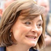 Cherie Blair has addressed the Cheltenham Literature Festival