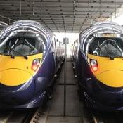 A report has questioned the benefits of a high-speed rail line between London and Scotland