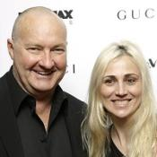 Randy Quaid and his wife Evi at a New York film premiere