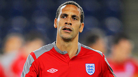Blip: Ferdinand has been suffering for both United and England