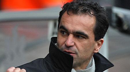 In the firing line: Wigan boss Roberto Martinez