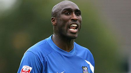 German interest: Hertha Berlin are reportedly keen on Sol Campbell
