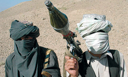 Taliban insurgents