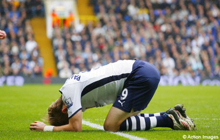 Roman Pavlyuchenko has struggled to make an impact at Spurs