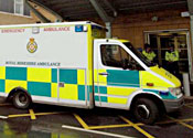 Boy, 4, in hospital after being hit by distress flare
