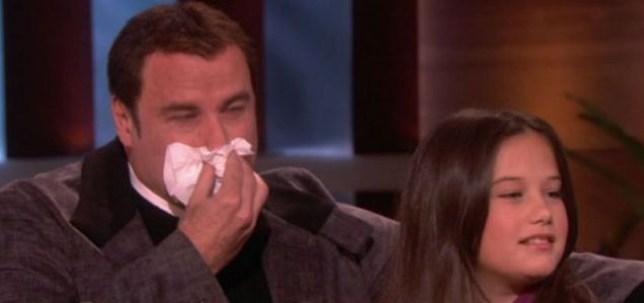 Travolta in tears over son?s death | Metro News