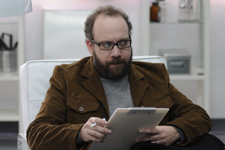 Paul Giammatti plays an actor who trades his soul in Cold Souls