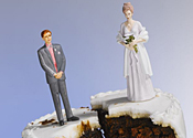 Bride was shocked to discover her cake was a fake