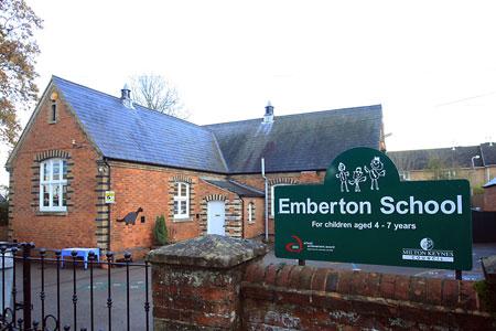 Emberton School, near Olney in Buckinghamshire