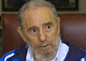 Alive and well: Fidel Castro