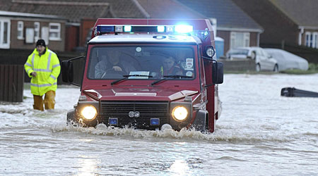 Parts of the UK have been badly hit by flooding