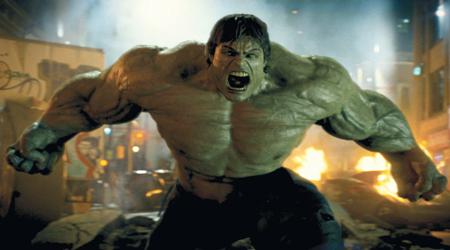 Eric Bana starred in The Incredible Hulk