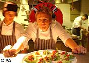 Darren Brown dives for scallops for Jamie Oliver