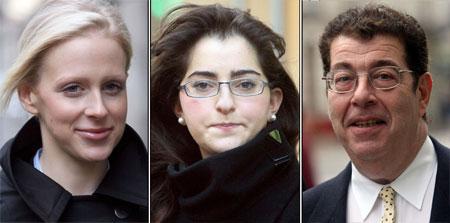Jordan Wimmer, Ariane Gordji and Mark Lowe