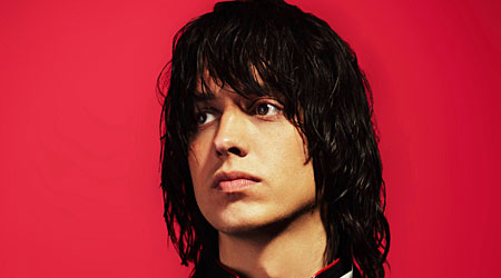 Lead singer Julian Casablancas of The  Strokes