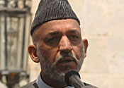 Karzai 'the puppet' vows to fight corruption