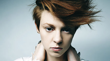 Elly Jackson of La Roux, the only act nominated in both categories