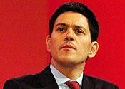 'We made a mistake': David Miliband