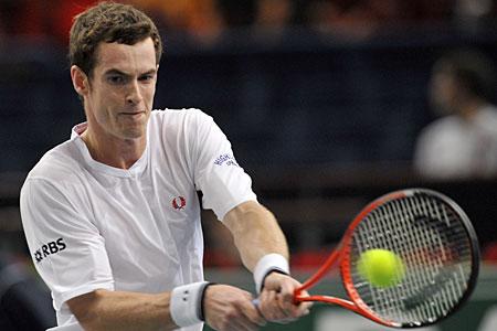 Andy Murray wins in Paris last night