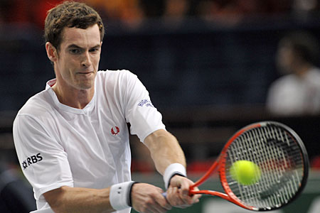 Andy Murray wins in Paris last night