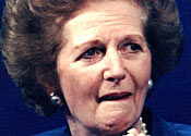 Text sparked rumours Margaret Thatcher had died