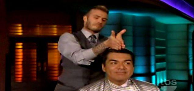 Becks gives Lopez the 'bro-hawk'