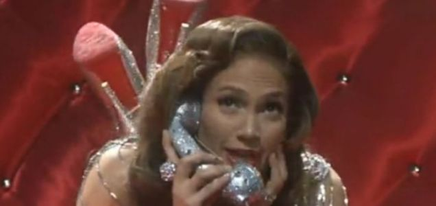 Jennifer Lopez calls Santa to ask for some Louboutins on So You Think You Can Dance