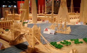 Man builds famous landmarks with six million toothpicks