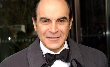Suchet has to relearn Poirot voice