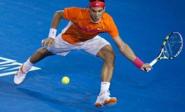 Nadal struggles through