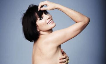 Sadie Frost strips naked without aid of airbrush
