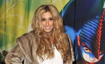 X-Factor's Stacey Solomon is the diva of Cirque Du Soleil