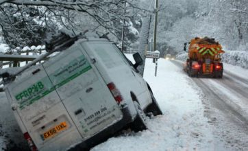 UK's snowy winter could cost the economy £14.5bn