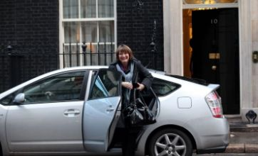 Harriet Harman fined for careless driving
